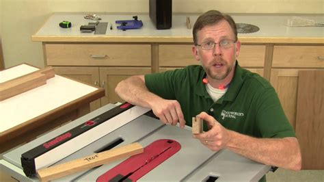 How To Build A Wood Cabinet Using Dado On Table Saw