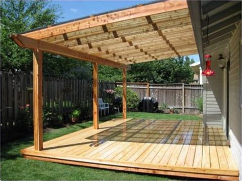 How To Build A Wood Deck Cover