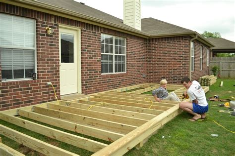 How To Build A Wood Deck Frame