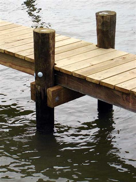 How To Build A Wood Deck On Pilings