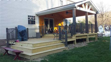 How To Build A Wood Deck With A Roof