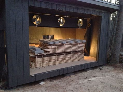 How To Build A Wood Drying Kiln