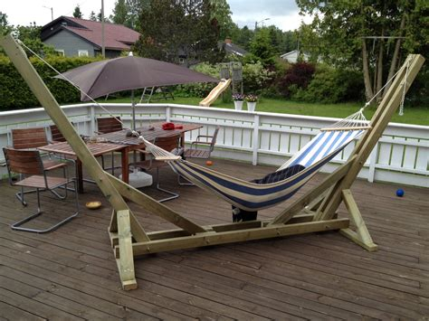 How To Build A Wood Hammock Stand