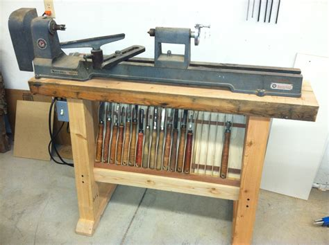 How To Build A Wood Lathe Stand Plans