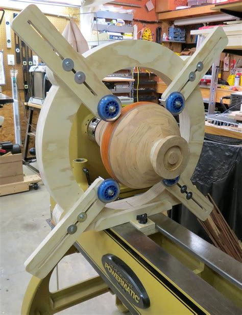 How To Build A Wood Lathe Steady Rest