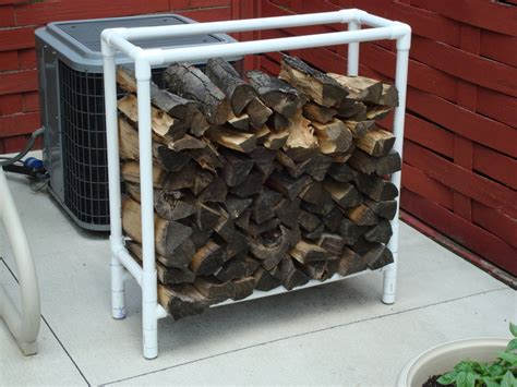 How To Build A Wood Rack From Pvc Pipe