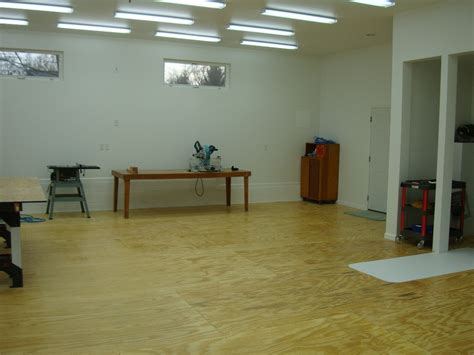 How To Build A Wood Shop Floor