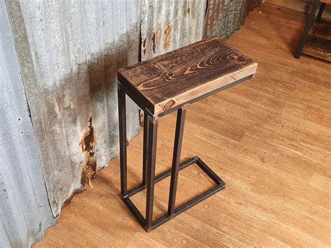 How To Build A Wood Sofa Side Table