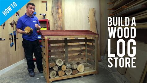 How To Build A Wood Store Youtube