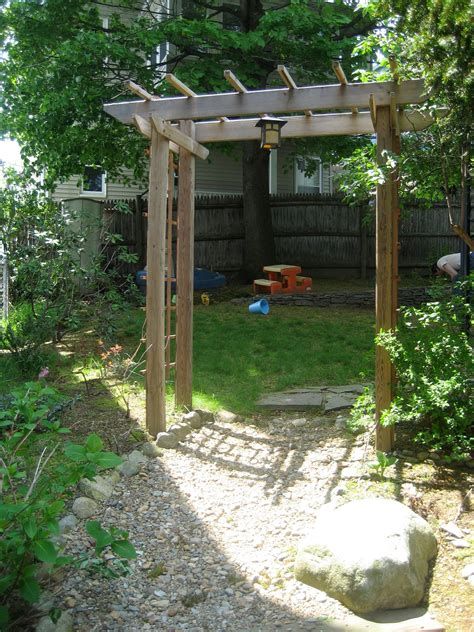 How To Build A Wood Trellis Arbor