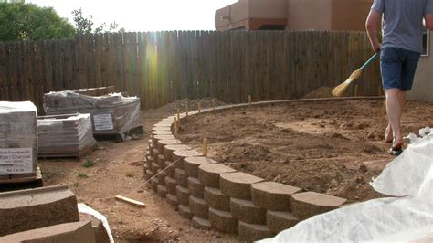 How To Build A Wood Wall Over Cinder Block