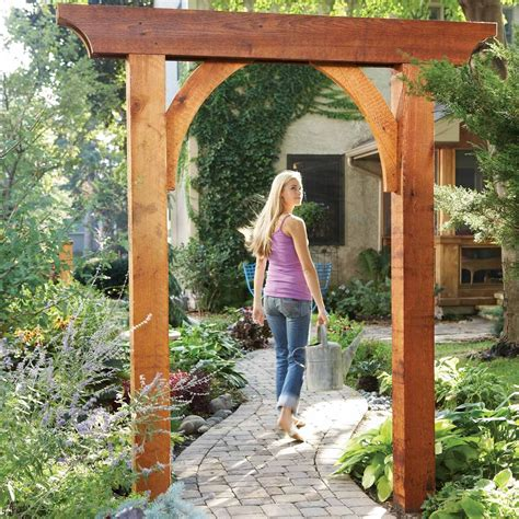 How To Build A Wooden Arbor Arch