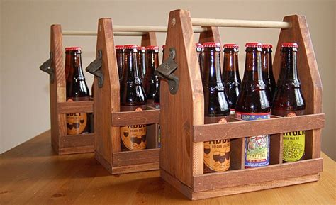 How To Build A Wooden Beer Tote Plans
