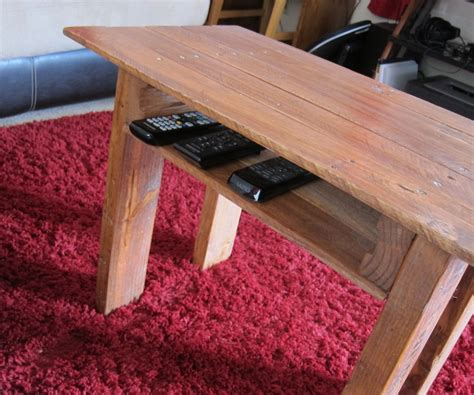 How To Build A Wooden Bench Using A Old Bedspreads
