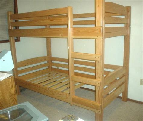 How To Build A Wooden Bunk Bed Frame