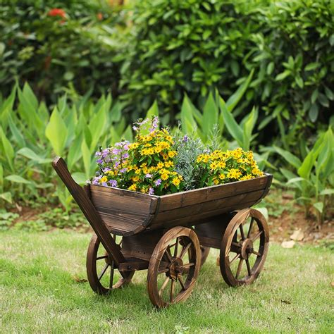How To Build A Wooden Cart For A Flower Box