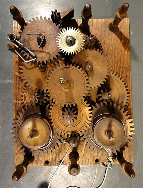 How To Build A Wooden Clock Movement