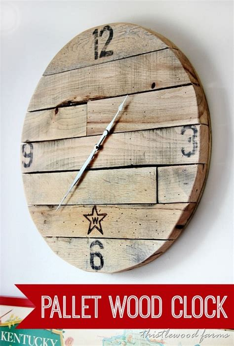 How To Build A Wooden Clock Out Of Wood