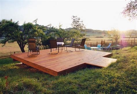 How To Build A Wooden Deck Attached To Patio