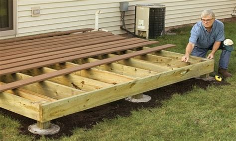 How To Build A Wooden Deck Floor