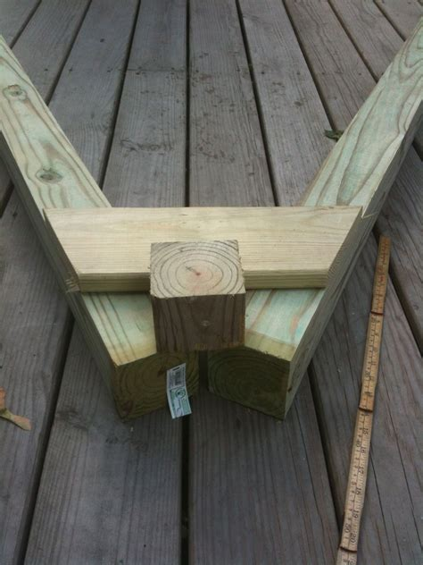 How To Build A Wooden Frame For A Swing