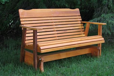 How To Build A Wooden Glider Bench Free Plans