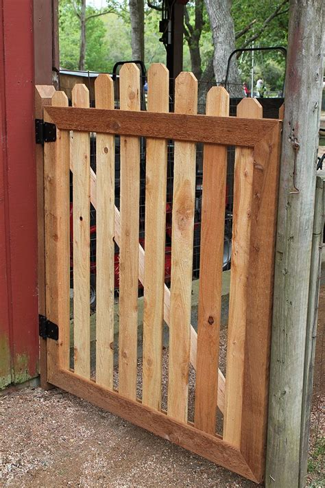 How To Build A Wooden Man Gate