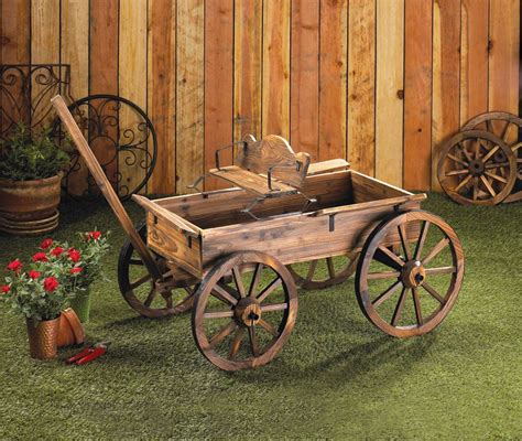 How To Build A Wooden Planter Cart