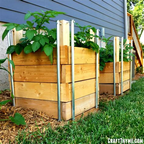 How To Build A Wooden Potato Box Plans