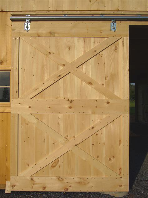 How To Build A Wooden Sliding Barn Door