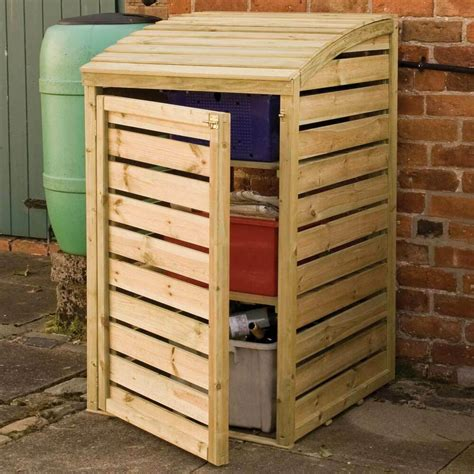 How To Build A Wooden Storage Box For Trash