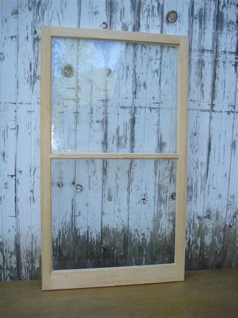 How To Build A Wooden Storm Window