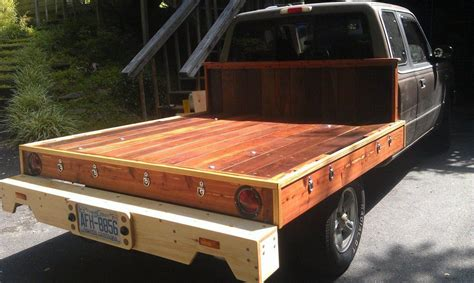 How To Build A Wooden Truck Bed On 2001 Chevy