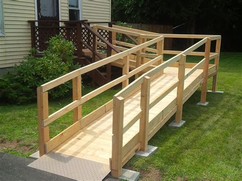 How To Build A Wooden Wheelchair Ramp Plans