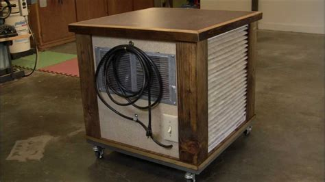 How To Build A Woodshop Air Filtration System