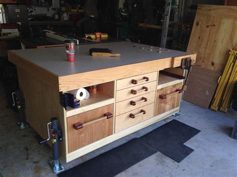 How To Build A Woodshop Assembly Table