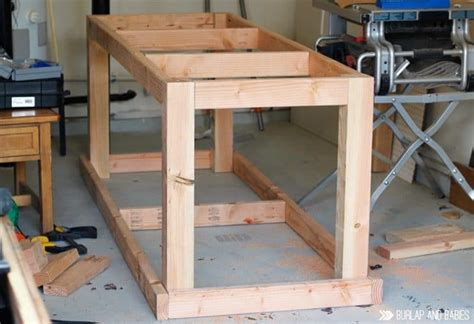 How To Build A Work Bench With Wheels