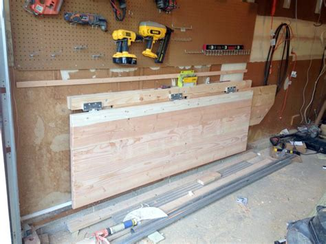 How To Build A Workbench With Folding Legs