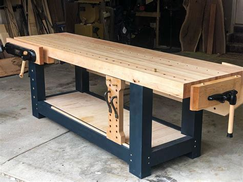 How To Build A Workbench Woodworking