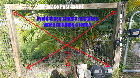 How To Build A Woven Wire Fence Gate