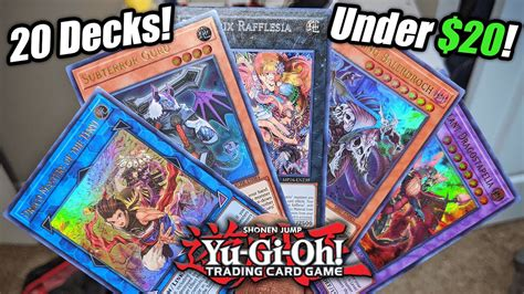 How To Build A Yu Gi Oh Deck Youtube