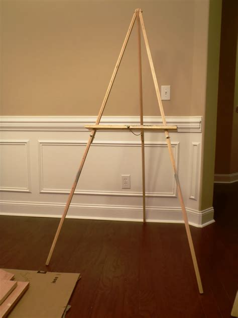 How To Build An Easel Easy Spirit