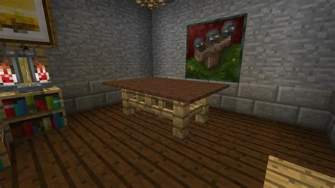 How To Build An End Table On Minecraft