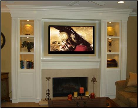How To Build An Entertainment Center Around A Fireplace