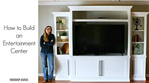 How To Build An Entertainment Center Youtube