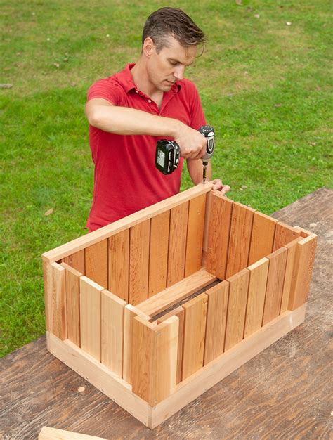 How To Build An Ice Chest Cooler Wooden Style