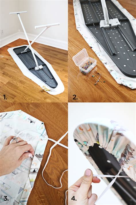 How To Build An Ironing Board Cover