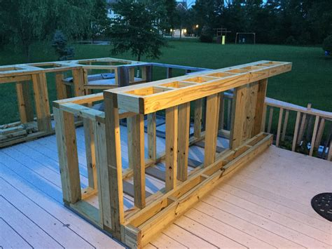 How To Build An Outdoor Deck Bar