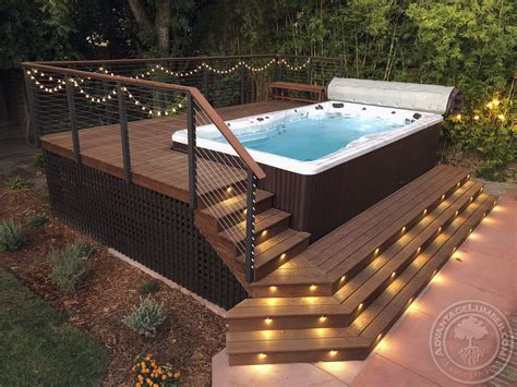 How To Build An Outdoor Deck Spa