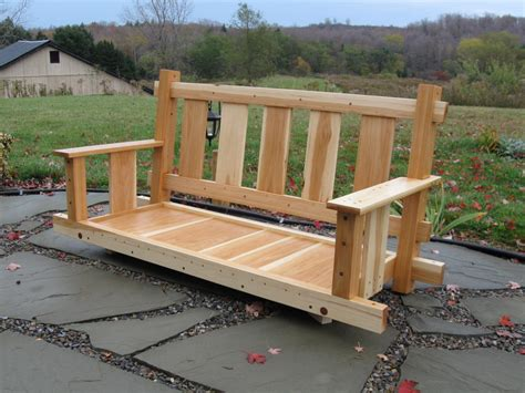 How To Build An Outdoor Porch Swing